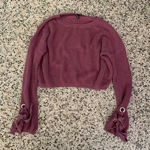 Moon and Madison cropped sweater